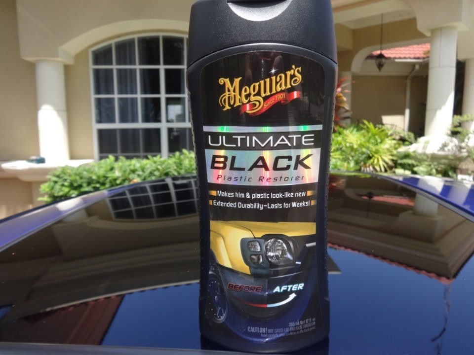 Meguiar 39 s ultimate black plastic restorer review and test results on my 2001 honda prelude youtube Black interior car trim restorer