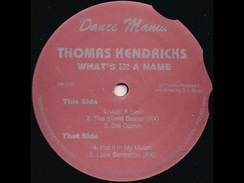 Thomas Kendricks - Put It In My (Your) Mouth (Dance Mania, DM 210, 1997) by DJ Slugo