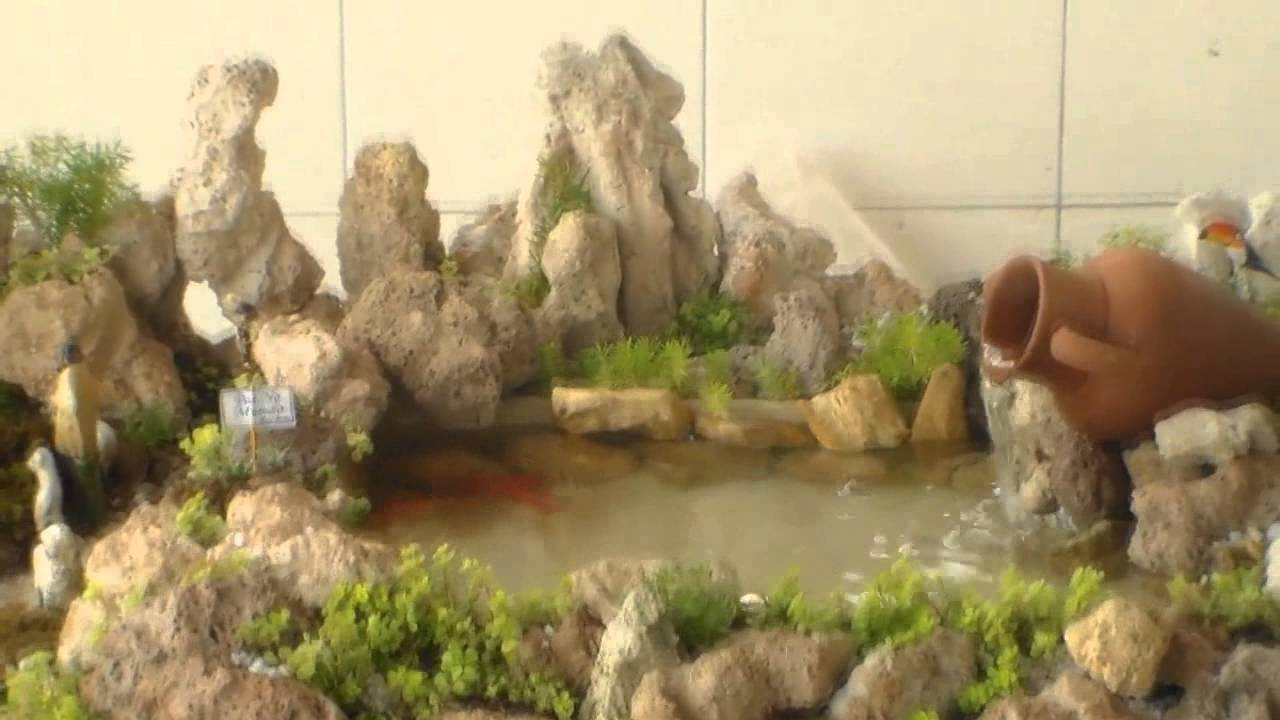 gruta de pedra para jardim : gruta de pedra para jardim: com Vida,Micro Laguinho com peixes,Mini Jardins e Gruta – YouTube