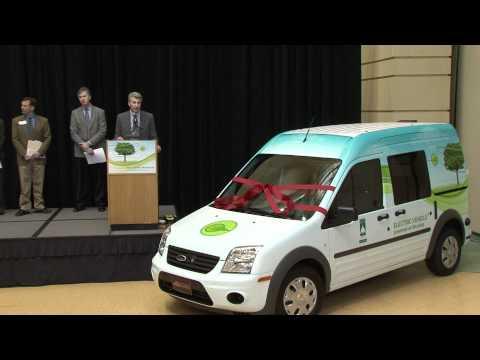Electric Vehicle New To City Fleet