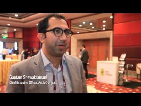 Gautam Shewakramani, AudioCompass - Phocuswright India 2016 - Travel Innovation Summit