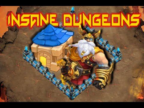 Castle Clash: Insane Dungeons 5-1, 5-2 & 5-3 ❚ F2P