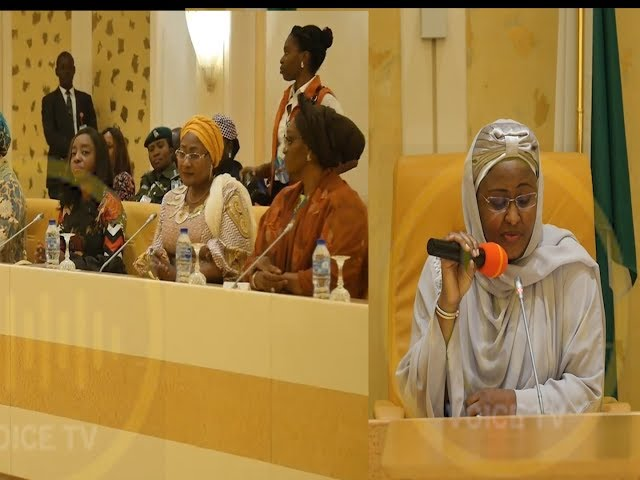 Governors Wives Storms Aso Villa, In Solidarity For Aisha Buhari