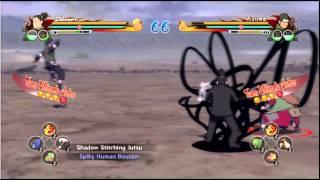 Shikamaru VS Asuma