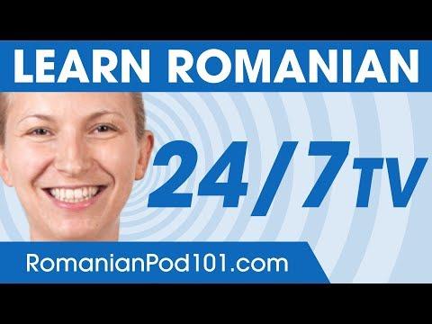 Learn Romanian 24/7 with RomanianPod101 TV