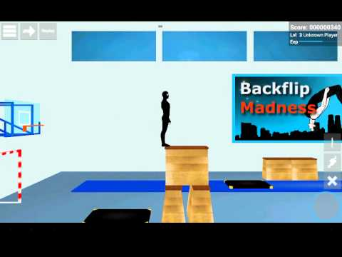 обзор Backflip Madness секреты баги