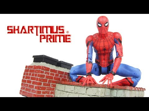 Marvel Select Spider-Man Homecoming Movie Diamond Select Toys Action Figure Toy Review