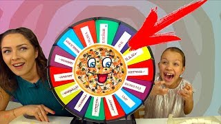 CRAZY ROULETTE Pizza CHALLENGE Mystery Wheel of Pizza Challenge /// Wiki Show