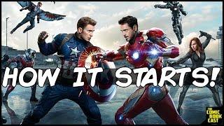 How Civil War Starts EXPLAINED Captain America Civil War