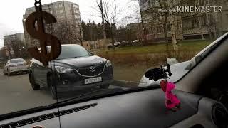 Параллельная ☝️ парковка задом быстро!1й способ!В реальных условиях.