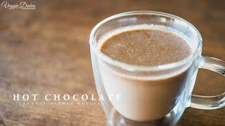 冬の定番!ヴィーガンホットチョコレートの作り方:How to make Hot Chocolate | Veggie Dishes by Peaceful Cuisine