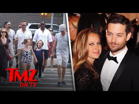 Leonardo DiCaprio Out With Tobey Maguire | TMZ TV