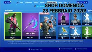 Shop fortnite 23 febbraio 2020!