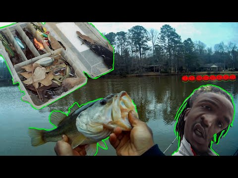 i-used-old-fishing-lures-to-catch-big-bass-(-it-worked-)