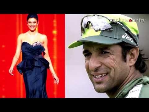 Wasim Akram to marry Bollywood actress Sushmita Sen?