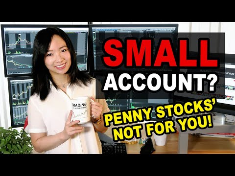 How to Grow a Small Account Day Trading? Penny Stocks NOT the only way for Beginner Traders!