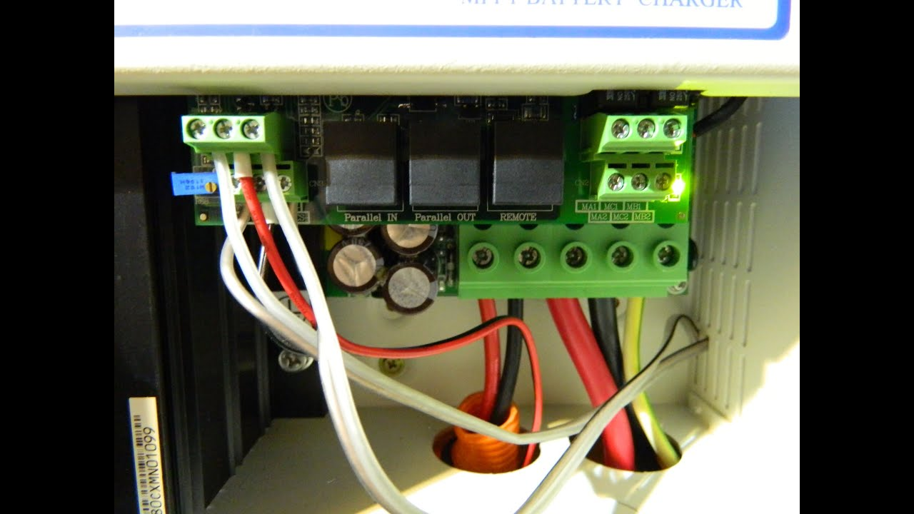 medium resolution of setting up a 2 wire auto start generator to work of the mppt charge controller