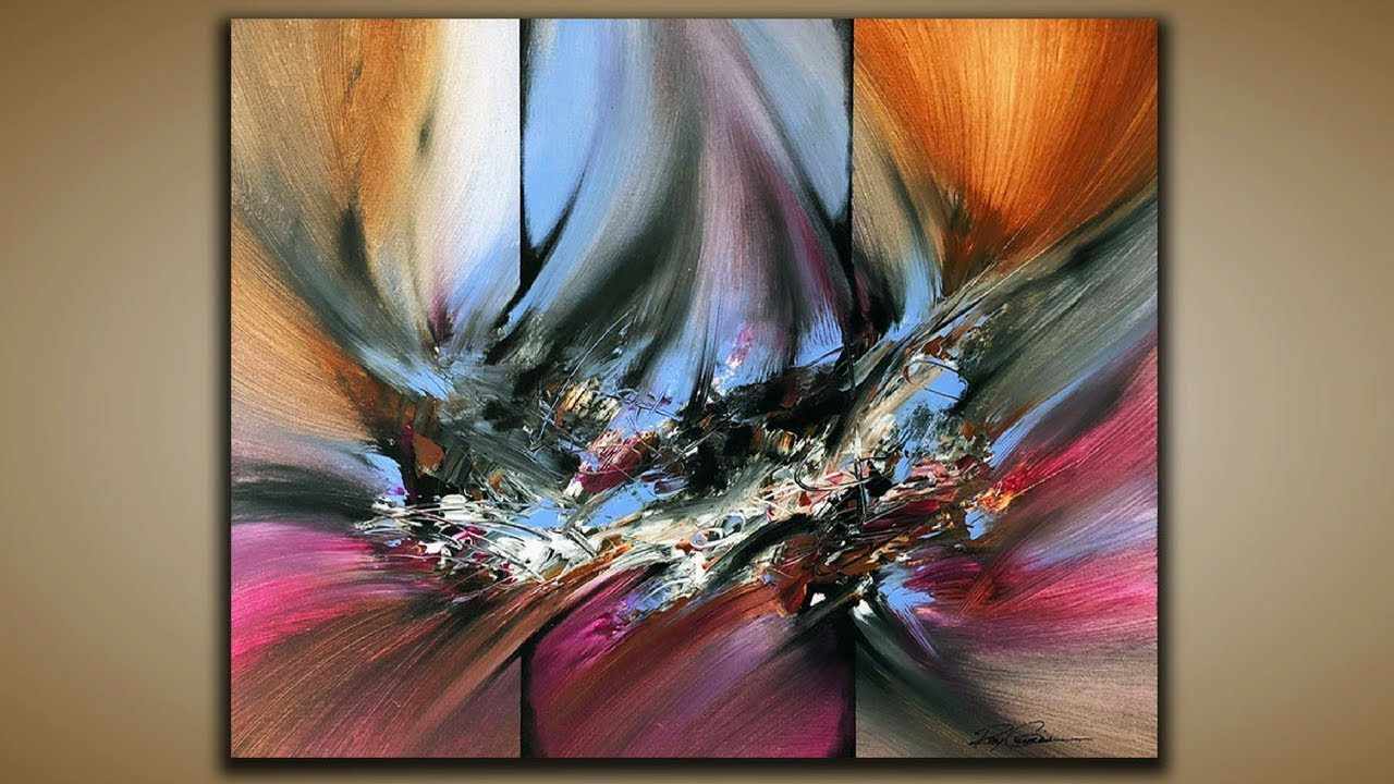 Abstract Painting / DEMO 60 / Abstract Art / Palette Knife ...