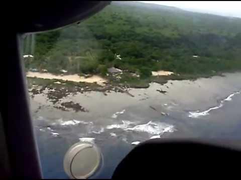 Landing Whitegrass-Tanna Island. South Pacific