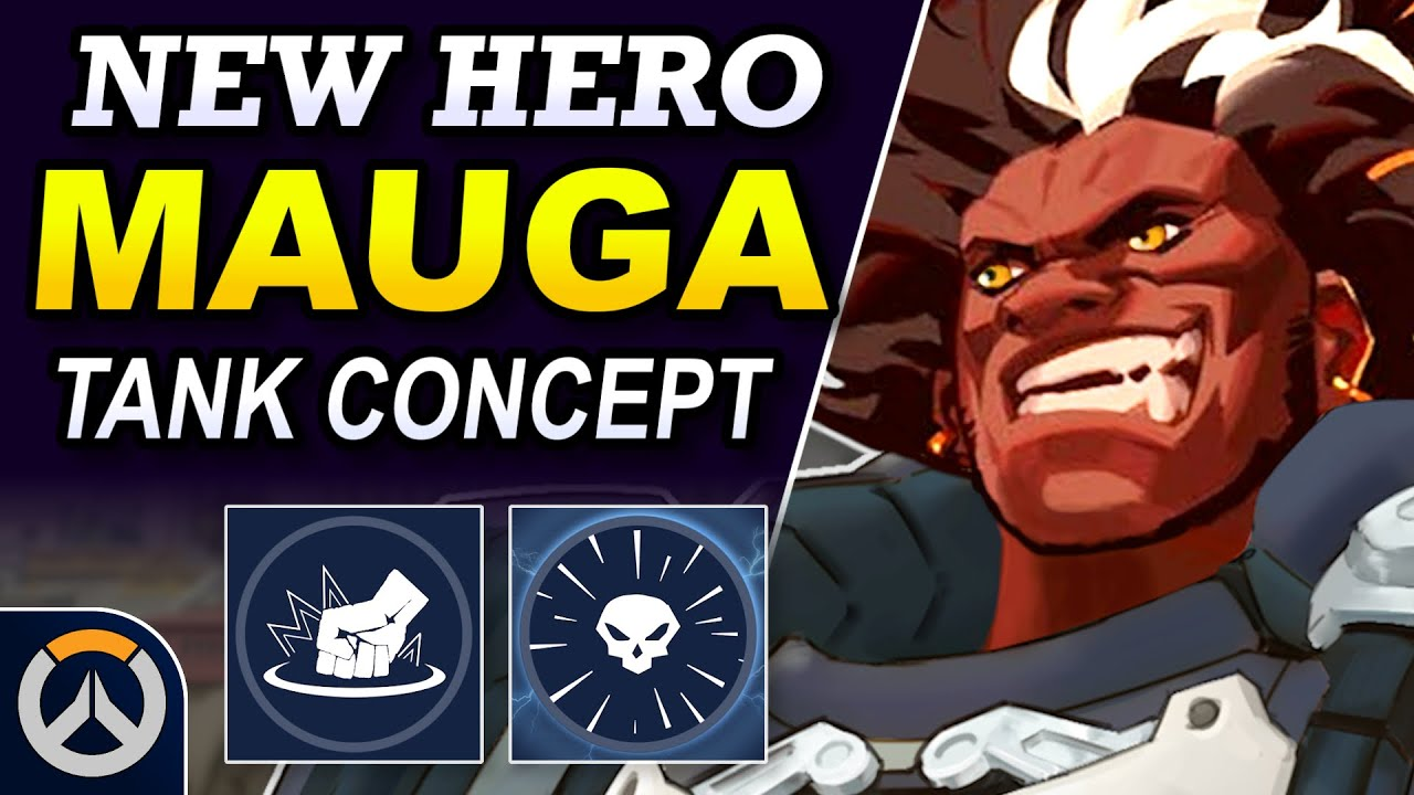 Download Overwatch - MAUGA New Hero Concept | Tank Abilities & Full Hero Kit