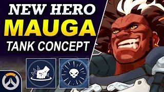Overwatch - MAUGA New Hero Concept   Tank Abilities & Full Hero Kit