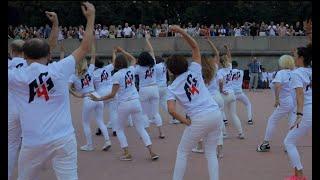 Флешмоб сальса A4G Dance в Парке Горького 2018 | Cubanos - Issac Delgado ft. Los Van Van