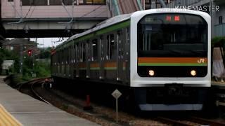 JR八高線 209系3100番台 ハエ72編成 西川越駅・小宮駅