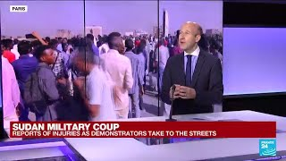 'A classic coup': Sudan's military takes power, arrests civilian prime minister • FRANCE 24