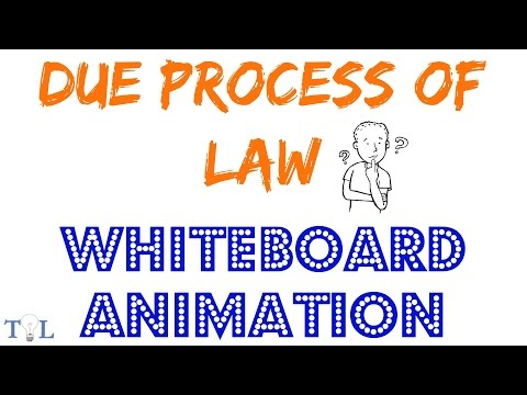 Due Process of Law  - Quick Lessons - Episode # 4