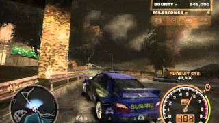 NFSMW 2005 Gameplay with Subaru Impreza WRX STI