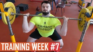 WEEK #7 / TOROKHTIY_GANG training program
