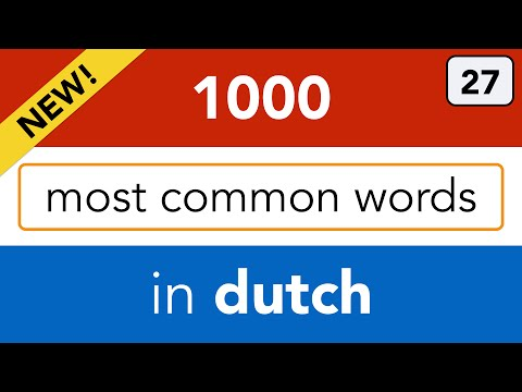 Learn about the Netherlands and Dutch words related to geography!