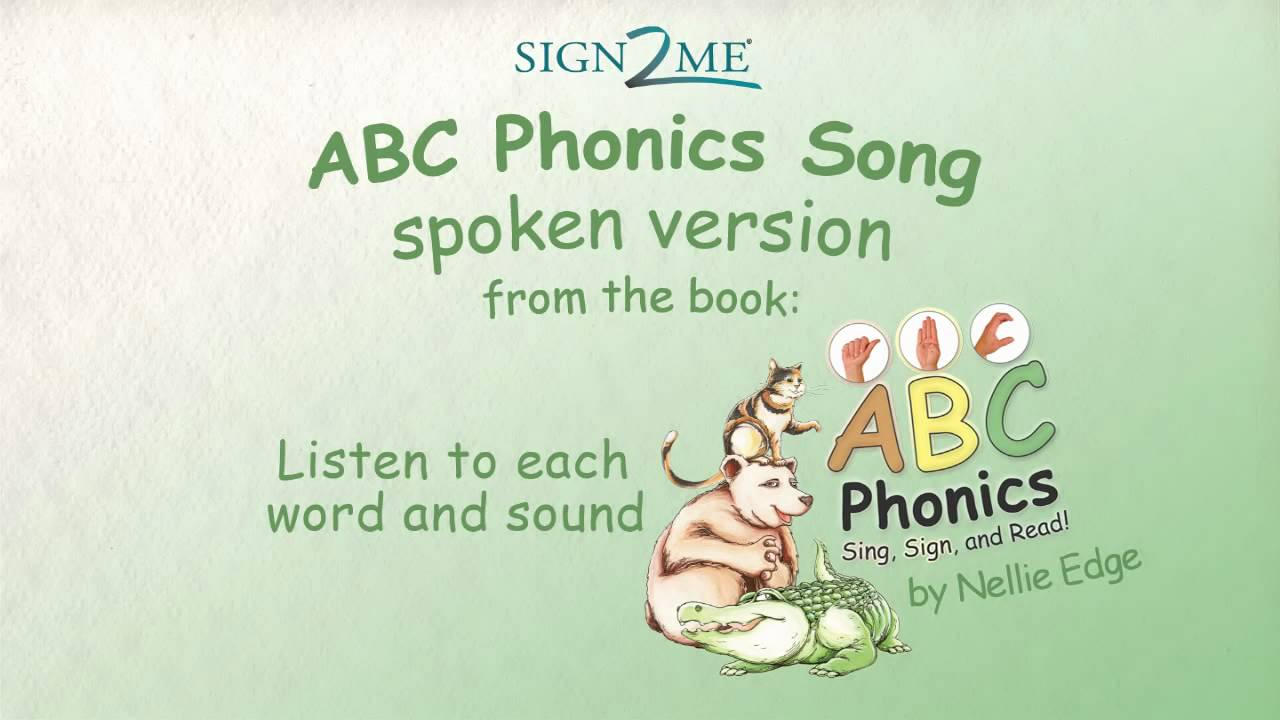 Phonics Abc Song Sounds Letters