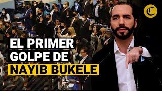 NAYIB BUKELE, con mayoría en el Congreso, DESTITUYE al Constitucional de El Salvador