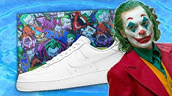 JOKER Nike AIR Force 1 Hydro Dipping