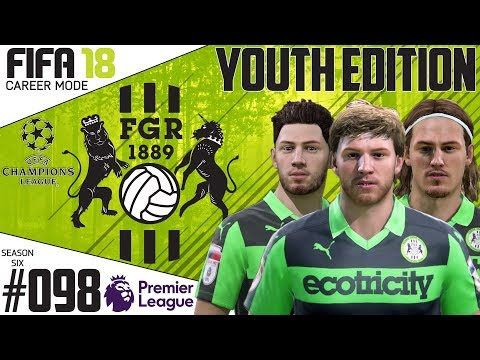 Fifa 18 Career Mode  - Youth Edition - Forest Green Rovers - EP 98