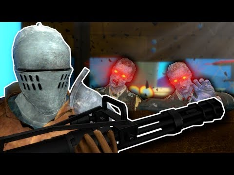 Zombies Overrun the Krusty Krab! - Garry's Mod Gameplay - Zombie Survival Roleplay