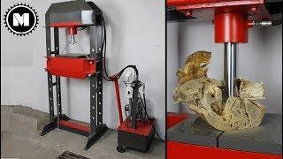 Prasa Hydrauliczna DIY