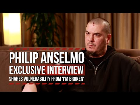 Pantera's Philip Anselmo Shares Vulnerability From 'I'm Broken'
