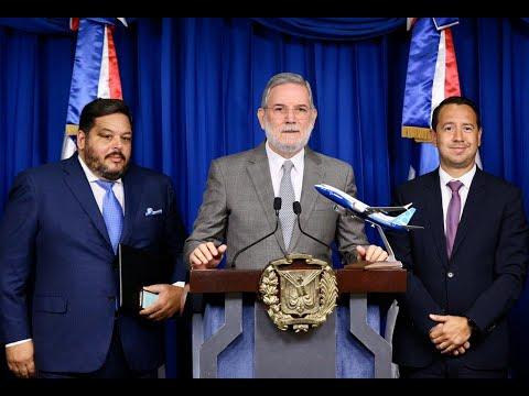 Boeing y FTS Holdings Group anuncian construcción de centro de mantenimiento aeronáutico exclusivo en aeropuerto de Barahona