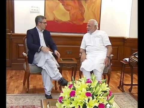 J&K CM Omar Abdullah meets PM