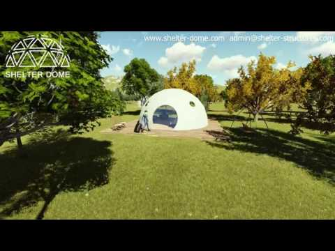 Glamping Dome in the forest resort - SHELTER DOME