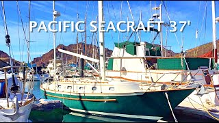 One Of The Worlds BEST BLUEWATER Sailboats Ever Made - 37' Pacific Seacraft - And It Is For Sale!!