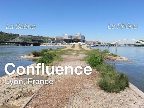 Confluence of Rhône and Saône – Lyon, France