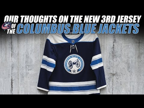 buy online 17ecd 77d79 Our Thoughts on the New Columbus Blue Jackets 3rd Jersey ...