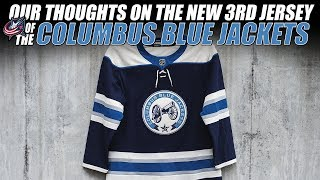Our Thoughts on the New Columbus Blue Jackets 3rd Jersey