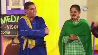 Nasir Chinyoti Kodu and Zafri Khan New Pakistani Stage Drama Full Comedy Clip