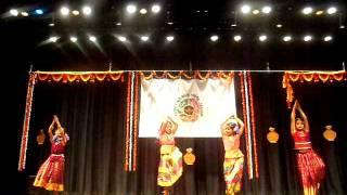 New England Tamil Sangam Pongal Vizha 2012 - Folk Dance by Kids