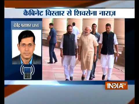 Modi cabinet reshuffle: Shiv Sena demand three cabinet berth
