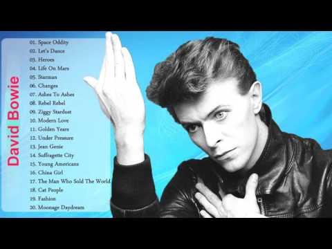 David Bowie Greatest Hits Playlist   Best Of David Bowie Full Album